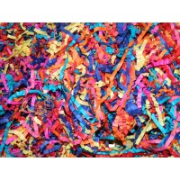 Shredded Paper (250g) - Assorted Colours