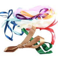Ribbon (10m) - 10 different colours, assorted widths (1.0cm - 2.5cm)