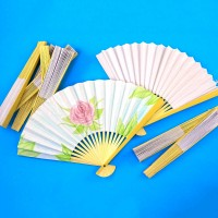 Paper Fans (12) Decorate Your Own