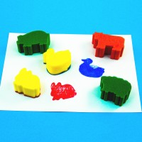 Sponge Painting Pack - Farm Animals (Set of 5)