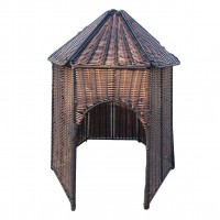Plastic Wicker Hut (Factory Seconds)
